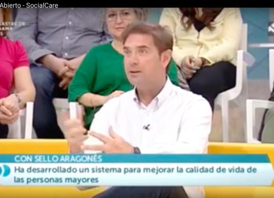 CEO Social&Care en Antena Aragón